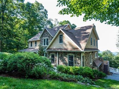 Asheville Single Family Home For Sale: 15 Elk Trail
