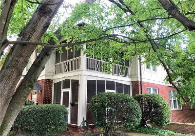 Southpark, Myers Park Condo/Townhouse Under Contract-Show: 2141 Dartmouth Place