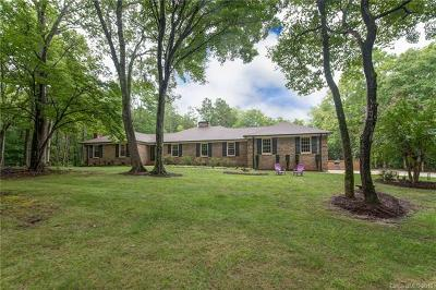 Single Family Home For Sale: 9755 Waxhaw Highway