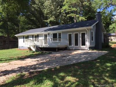 Waxhaw Single Family Home Under Contract-Show: 801 Sharon Drive