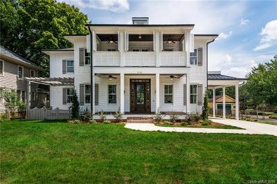 Charlotte Single Family Home For Sale: 2131 Crescent Avenue