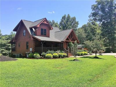Bat Cave, Black Mountain, Chimney Rock, Lake Lure, Rutherfordton, Union Mills, Mill Spring, Columbus, Tryon, Saluda Single Family Home For Sale: 182 Shady Bark Lane #47