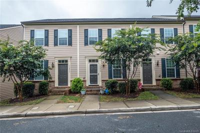 Huntersville Condo/Townhouse For Sale: 13819 Hill Street