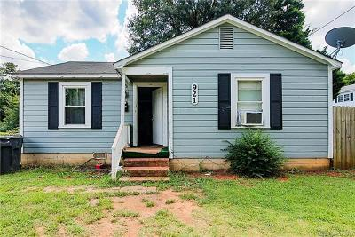 Single Family Home For Sale: 921 Cantwell Street