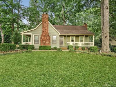 Mint Hill Single Family Home Under Contract-Show: 9425 Goldsmith Lane