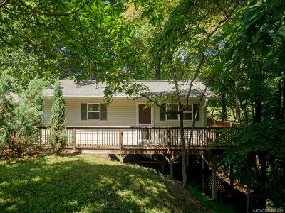 Hendersonville Single Family Home Under Contract-Show: 121 Burge Mountain Road