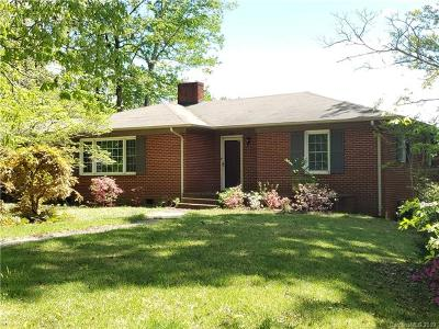 Rutherfordton Single Family Home For Sale: 3939 Hudlow Road