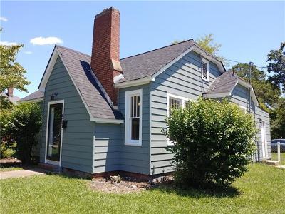 Single Family Home For Sale: 875 Saluda Street