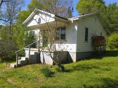 Lenoir NC Single Family Home For Sale: $16,900