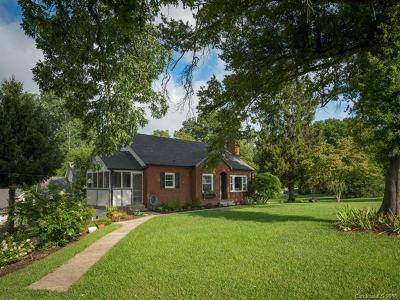 Candler Single Family Home For Sale: 763 Asbury Road