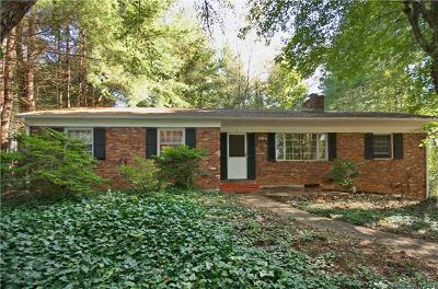 Asheville Single Family Home For Sale: 1 Clearbrook Road