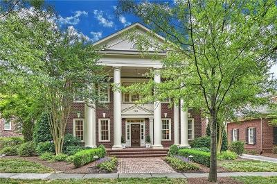 Charlotte NC Single Family Home For Sale: $1,830,000