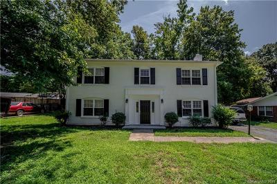 Charlotte NC Single Family Home For Sale: $165,000