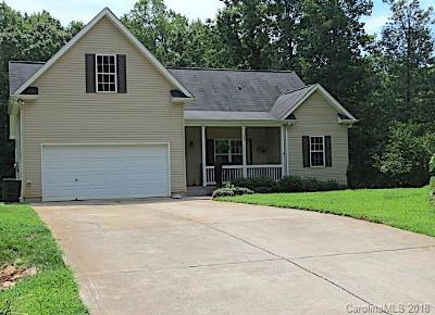Troutman NC Single Family Home For Sale: $188,000