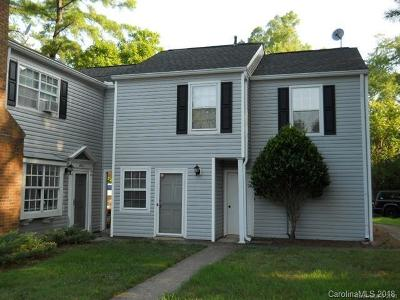 Charlotte Condo/Townhouse For Sale: 8509 Pine Thicket Court
