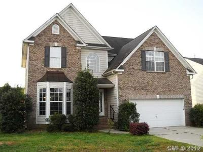 Waxhaw Single Family Home For Sale: 8707 Gracefield Drive