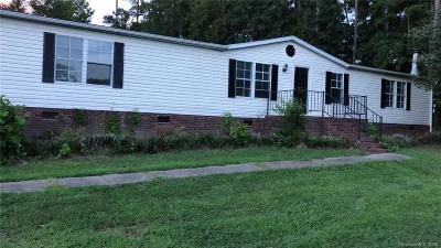 Concord NC Single Family Home For Sale: $119,900