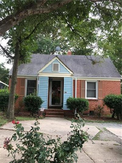 Single Family Home For Sale: 813 West Boulevard