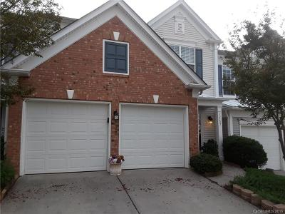 Charlotte NC Condo/Townhouse Sold: $250,000