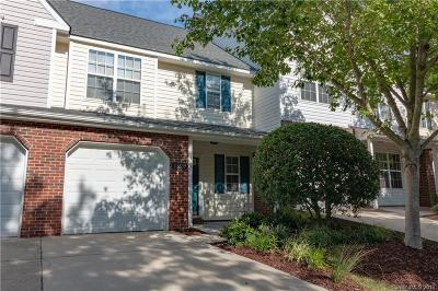 Charlotte NC Condo/Townhouse For Sale: $205,000