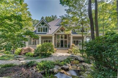 Hendersonville NC Single Family Home For Sale: $1,795,000