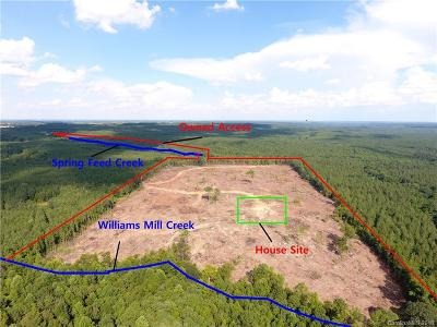 Anson County Residential Lots & Land For Sale: Grover Bennett Road