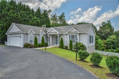 Candler Single Family Home For Sale: 84 Justice Ridge Road #5