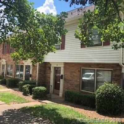 Charlotte Condo/Townhouse For Sale: 1239 Archdale Drive #F