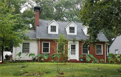 Gastonia Single Family Home For Sale: 1209 Oakwood Avenue
