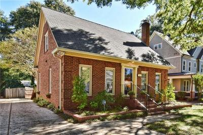 Dilworth Single Family Home For Sale: 2127 Floral Avenue