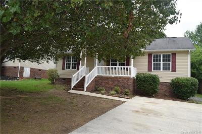 Concord NC Single Family Home For Sale: $150,000