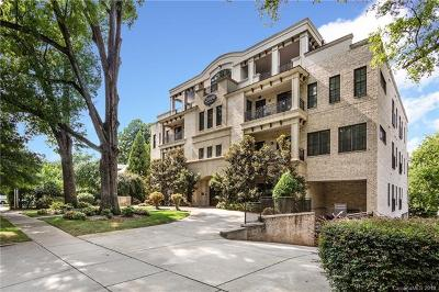 Myers Park Condo/Townhouse For Sale: 626 Queens Road #101