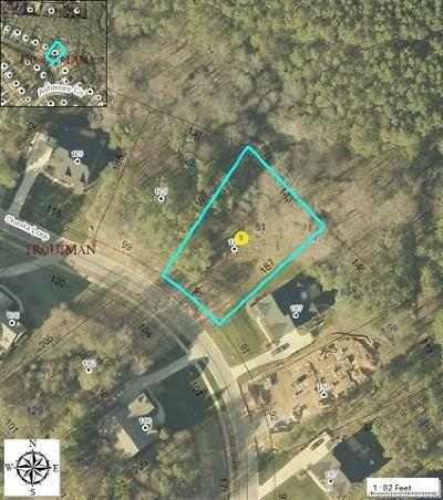 Troutman Residential Lots & Land For Sale: 183 Chaska Loop #61