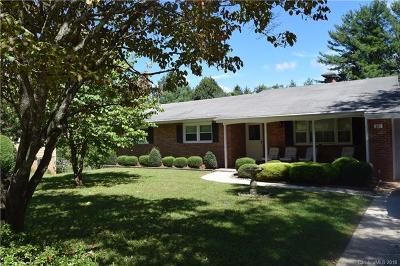 Brevard Single Family Home For Sale: 141 Delphia Drive