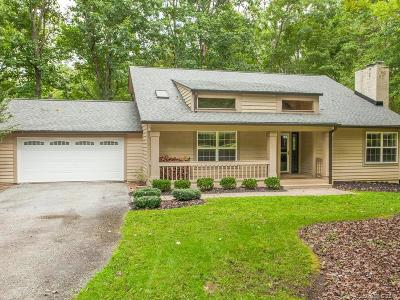 Transylvania County Single Family Home Under Contract-Show: 78 Timberlane Drive