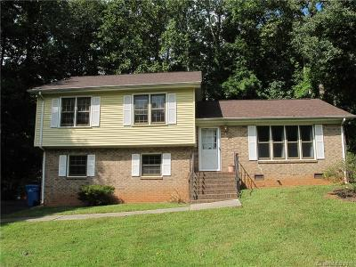 Mint Hill Single Family Home Under Contract-Show: 4826 Carving Tree Drive