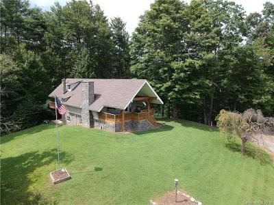 Waynesville Single Family Home For Sale: 9218 White Oak Road