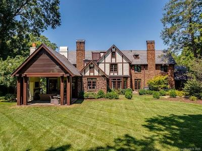 Southpark, Myers Park Single Family Home For Sale: 1800 Pinewood Circle