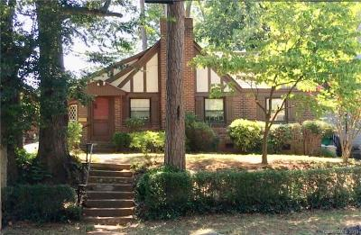 Dilworth Single Family Home For Sale: 1511 Waverly Avenue