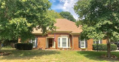 Charlotte Single Family Home For Sale: 9707 Leaf Arbor Lane