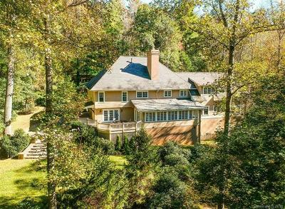 Asheville Single Family Home For Sale: 10 Country Club Trail