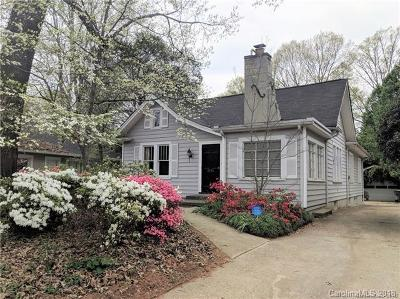 Myers Park Single Family Home For Sale: 2324 Sharon Road