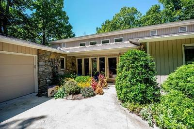 Asheville Single Family Home For Sale: 409 Sondley Woods Place