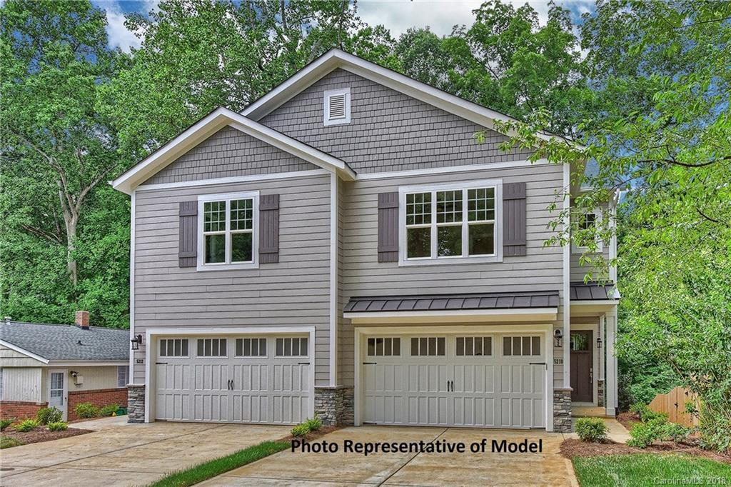3 bed / 2 full, 1 partial baths Condo/Townhouse in Charlotte for $415,000