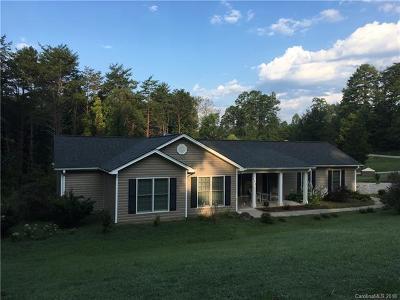 Rutherfordton Single Family Home For Sale: 185 Wellington Drive