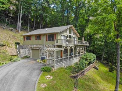 Waynesville Single Family Home For Sale: 286 Tuckaway Road #70 &