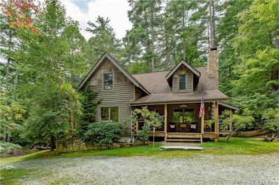 Transylvania County Single Family Home For Sale: 2279 Upper Whitewater Road #L053