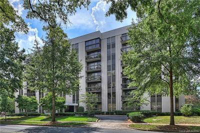 Myers Park Condo/Townhouse For Sale: 2222 Selwyn Avenue #308