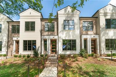 Southpark, Myers Park Condo/Townhouse For Sale: 2035 Lynnwood Drive