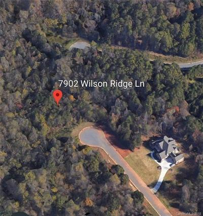 Mint Hill Residential Lots & Land For Sale: 7902 Wilson Ridge Lane